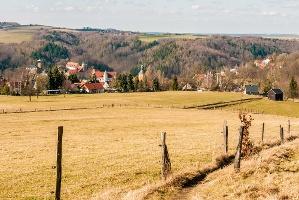 Foto Hohnstein von der Napoleonschanze