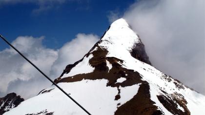 Gr.Wiesbachhorn 3565 m, Paradeansicht vom Bratschenkopf