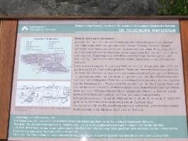 Foto Informationstafel am Hinteren Raubschloss