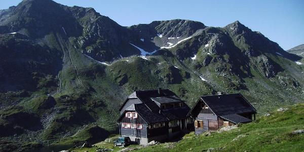 Ignaz Matthis Hütte gegen Engelkarspitze