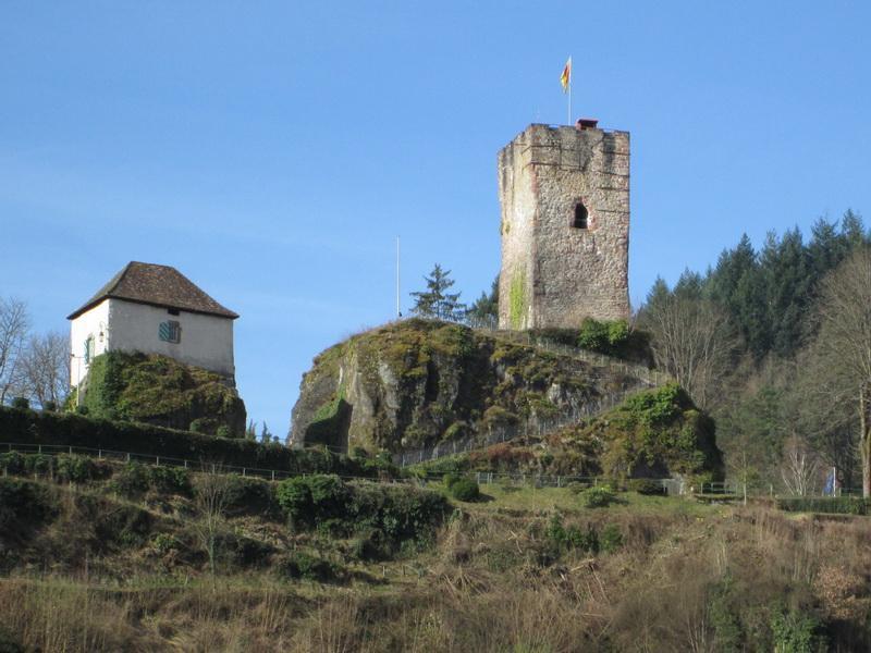 Querweg Lahr-Rottweil, 3. Etappe: Hornberg-Buchenberg