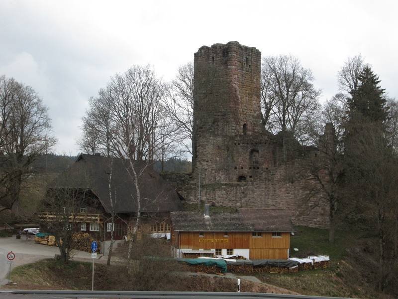 Querweg Lahr-Rottweil, 4. Etappe: Buchenberg - Rottweil