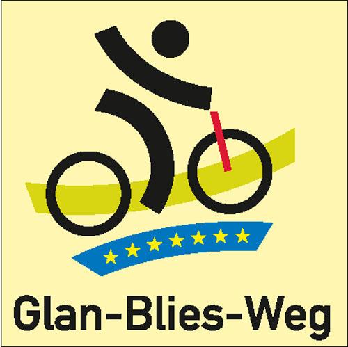 Wegezeichen Glan-Blies-Radweg