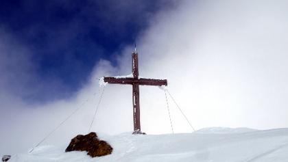 Gipfelkreuz Seekoppe 2150 m