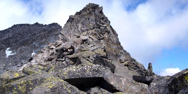 Grat zum Gipfel