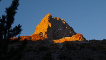 Lamsenspitze bei Sonnenaufgang