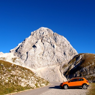 Oberster Parkplatz 2040 m