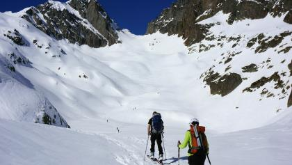 Aufstieg zum Col du Belvédére