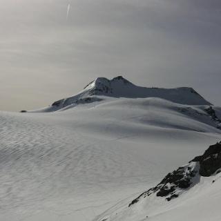 Blick über den Gletscher vom Eisseepass.