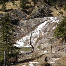 Ziel Wasserfall
