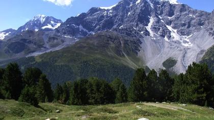 Immer noch Eis am höchsten Bergmassiv Südtirols