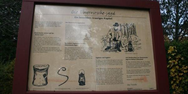 Info-Tafel Elwetritcheweg