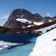 Piz Buin mit Eissee 2770 m