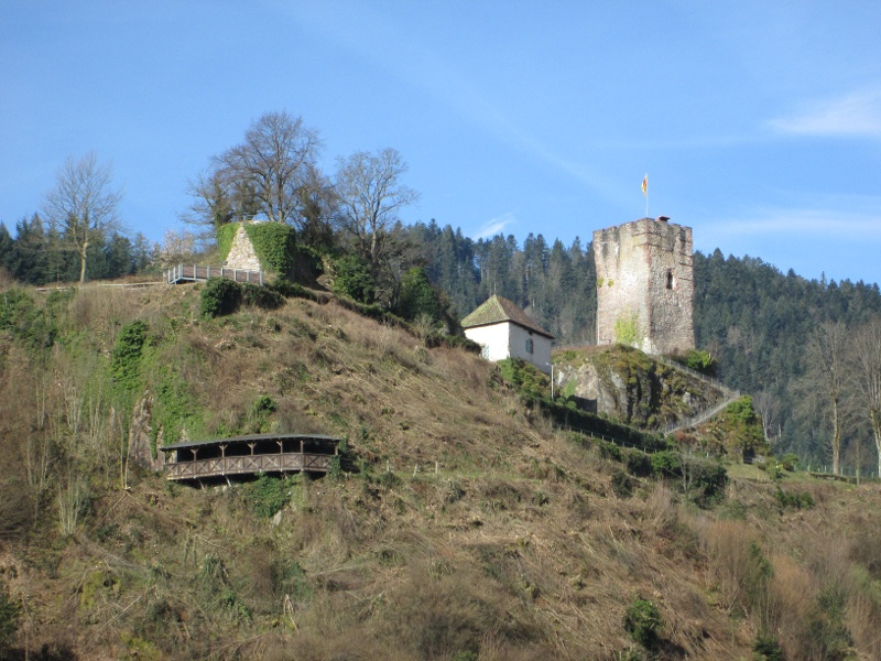 Querweg Lahr-Rottweil, 2. Etappe: Höhehäuser - Hornberg (28,2 km)
