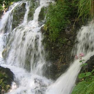 Le cascate del Rio Bianco a Stenico