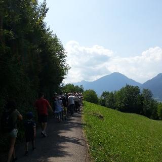 Passeggiata ai piedi del Monte Casale
