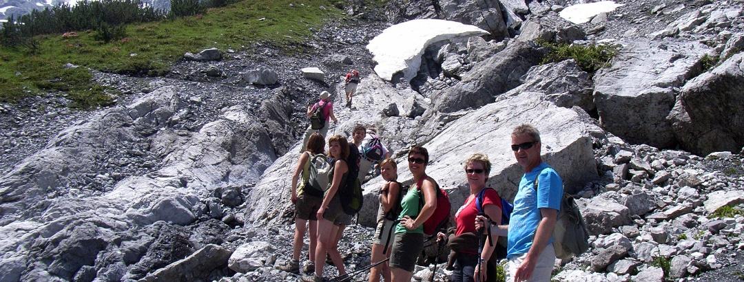 Blickpunkt Gletscherlandschaft Ortlermassiv
