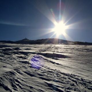 Der flache Gipfel des Nösslachjoches.