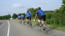 Strecke Juni 2014 Radtour Albverein Schrozberg - 2 Tages-Gruppe SAMSTAG
