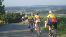 In den Osten von Schrozberg - Rundtour mit 42 Km und 460 hm