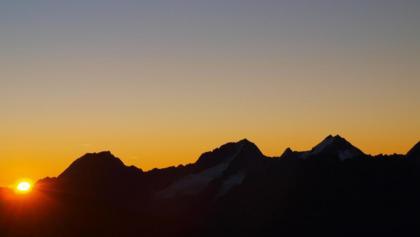 Sonnenaufgang beim Ramolhaus