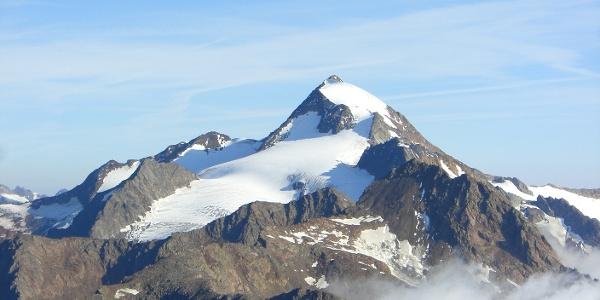 Weißkugel- die heimliche Königin der Ötztaler Alpen