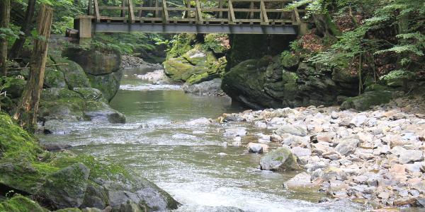Brücke über die Erlau