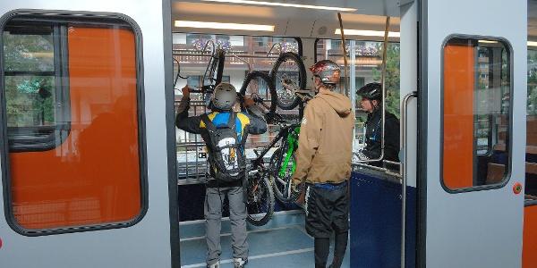 Ride on the Gornergrat Bahn cog railway to the starting point