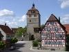 Torturm im Vellberger Städtle   - © Quelle: Hohenlohe + Schwäbisch Hall Tourismus e.V.