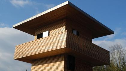 Limeswachtturm in Hienheim, Neustadt a.d. Donau