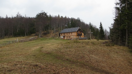 Die Waldburganger Hütte auf der Bodenwiese