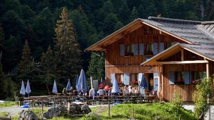Tutzinger Hütte von südosten