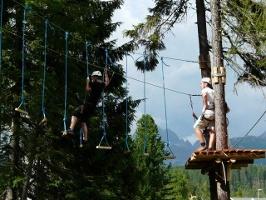 Squirrel rope park - Štrbské Pleso