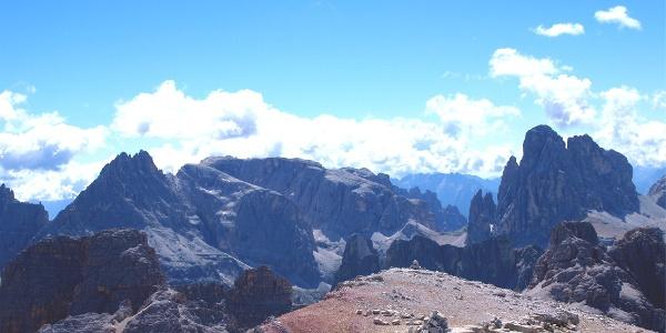 Nächstes Gipfelziel: Hochbrunnerschneid 3046m