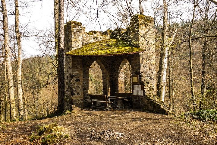 Foto Gossdorfer Raubschloss