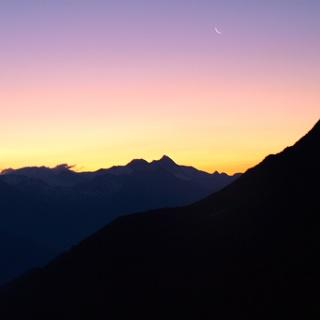 Sonnenaufgang über dem Großglockner