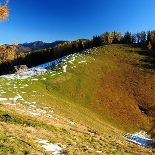 Blahbergalm im Herbst