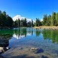 Der Zirmtalsee besticht durch seine Ursprünglichkeit und sein glasklares Wasser