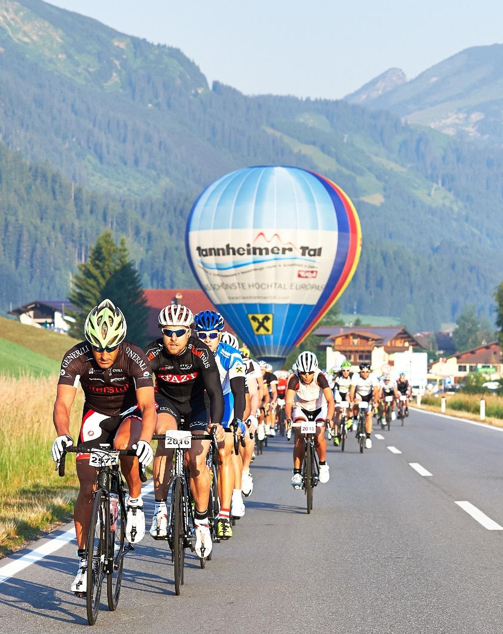 Rad-Marathon Tannheimer Tal Start  - @ Autor: Michael Keller  - © Quelle: Tourismusverband Tannheimer Tal