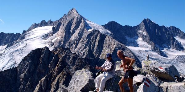 Am  Roßkopf 2845 m mit Reichenspitze