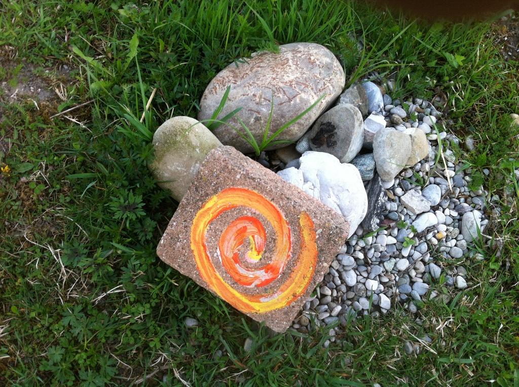 Wegekennzeichen des Meditationsweges (Antonie Schmid)